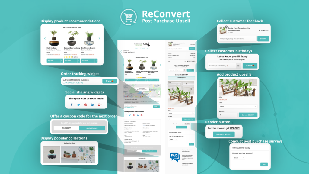 Reconvert, an industry leader for marketing Shopify apps