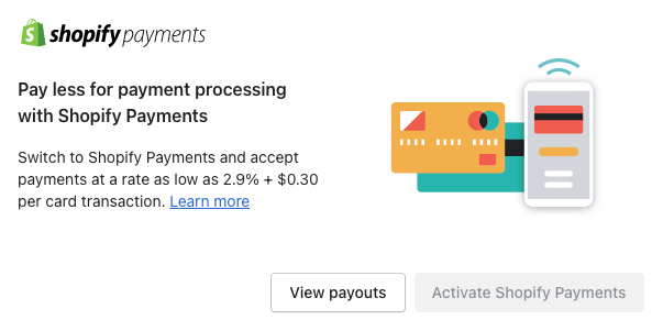 Both Shopify & Wix offer in-house payment solutions. They're quite similar, but Shopify charges a bit more vs Wix