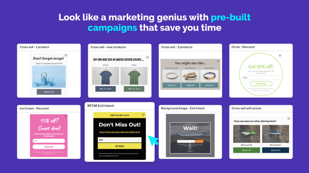 Privy can help you automate your dropshipping business with automatic email capture and email marketing