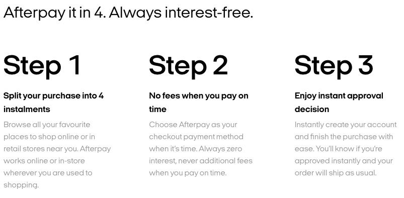 Looking at using Afterpay or Klarna? Here's how they work!
