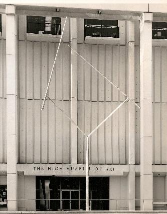 Two Lines Oblique Atlanta (1969-1973)