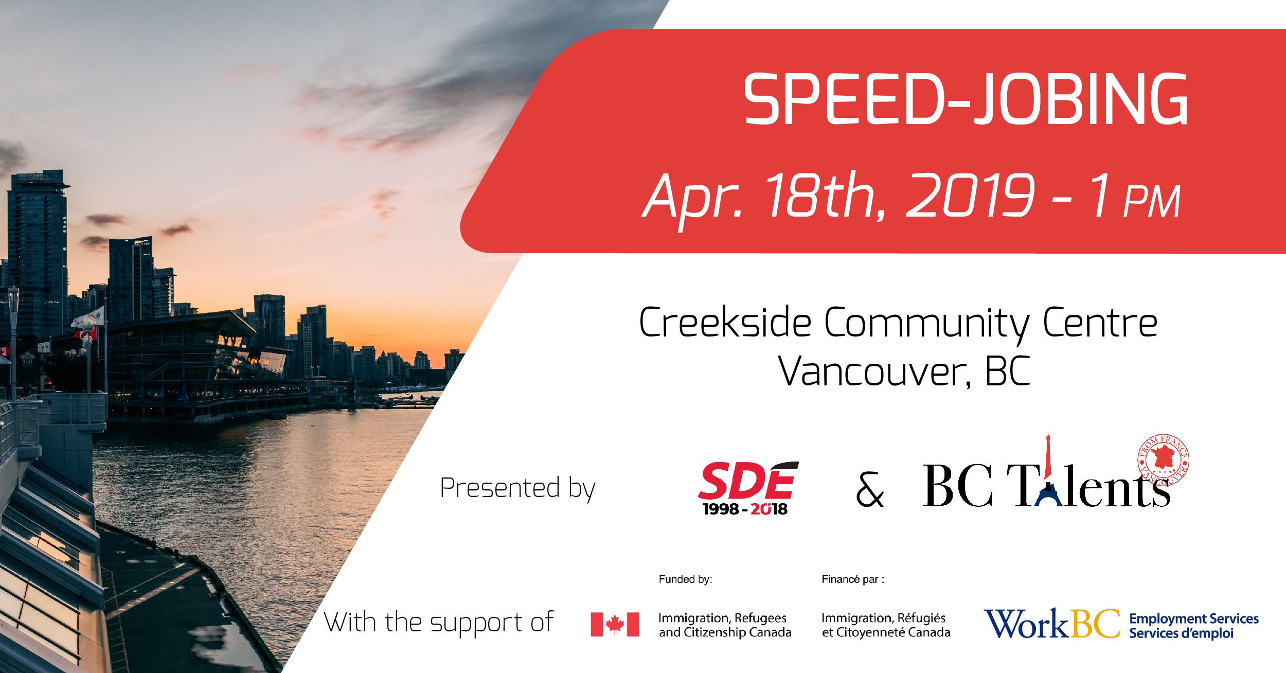Speed-Jobing Spring 2019