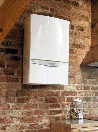 system boiler installed