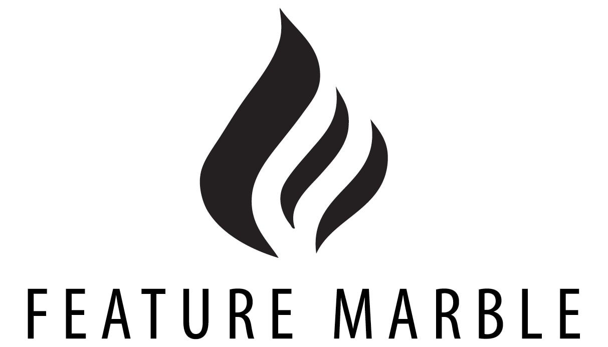 feature marble logo