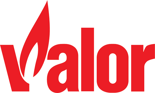 valor gas fires logo