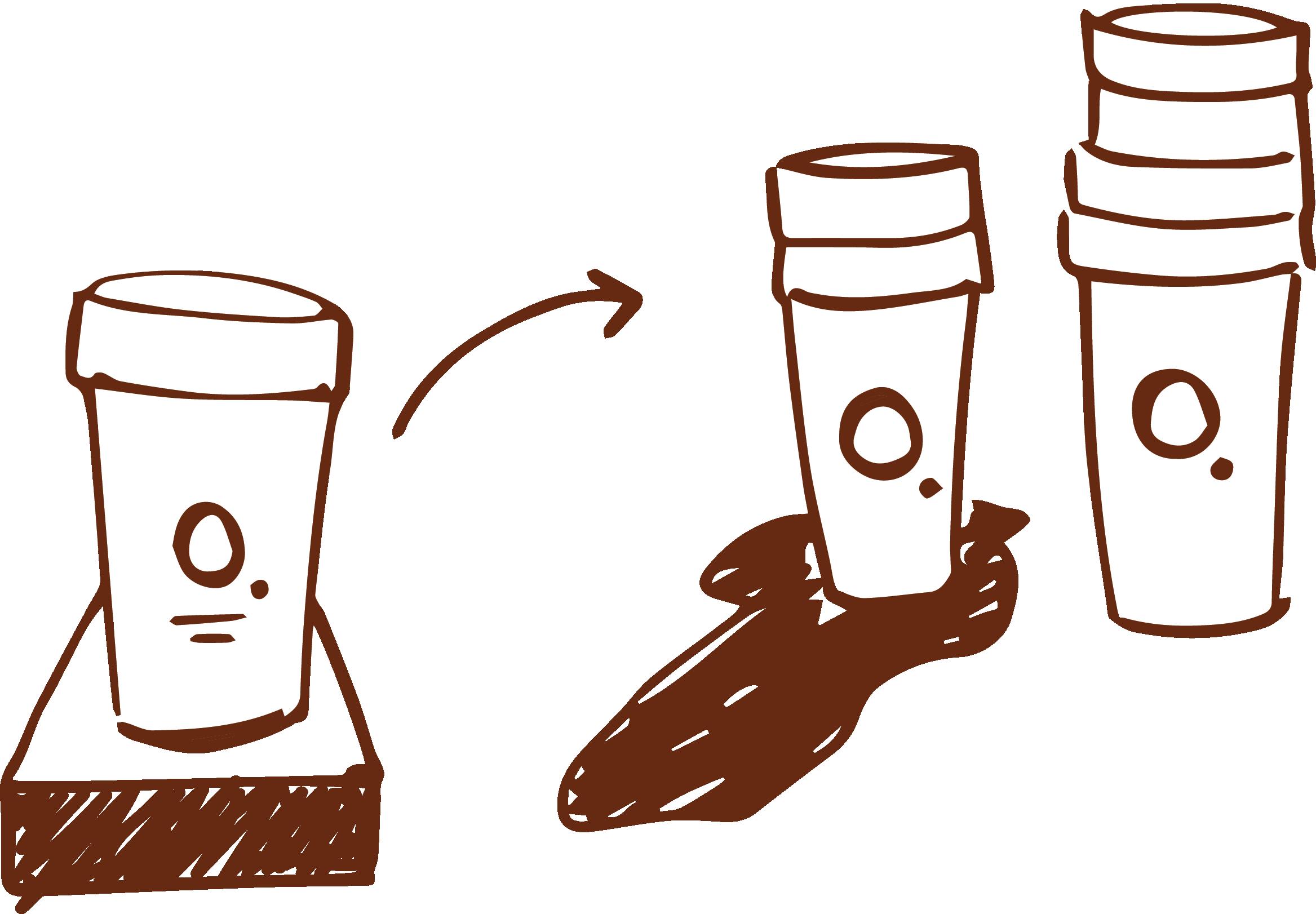 Return cups