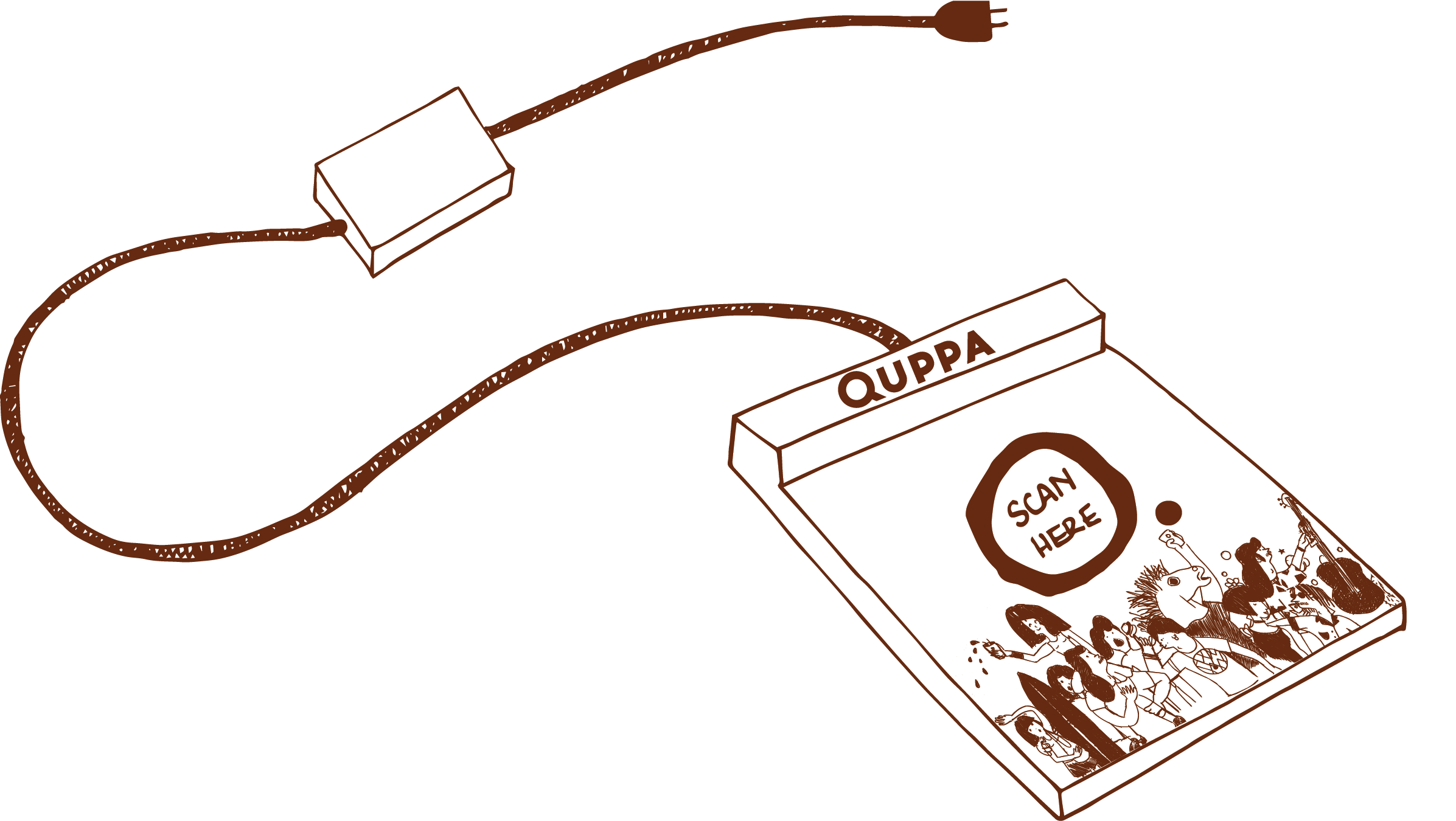 Quppa cup scanner