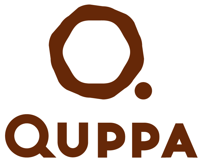 Logo of Quppa: No waste, just taste