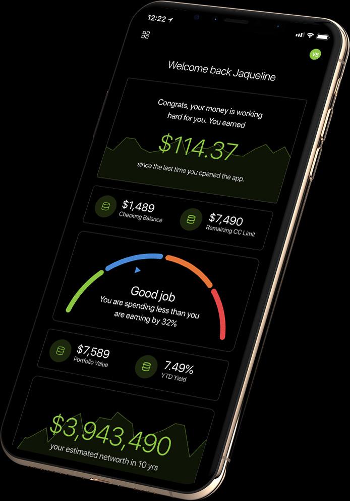 Unifimoney app on iPhone