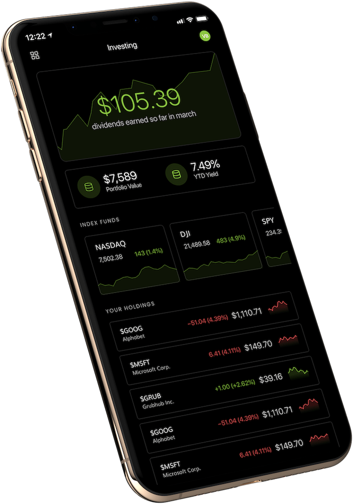 Unifimoney app on phone