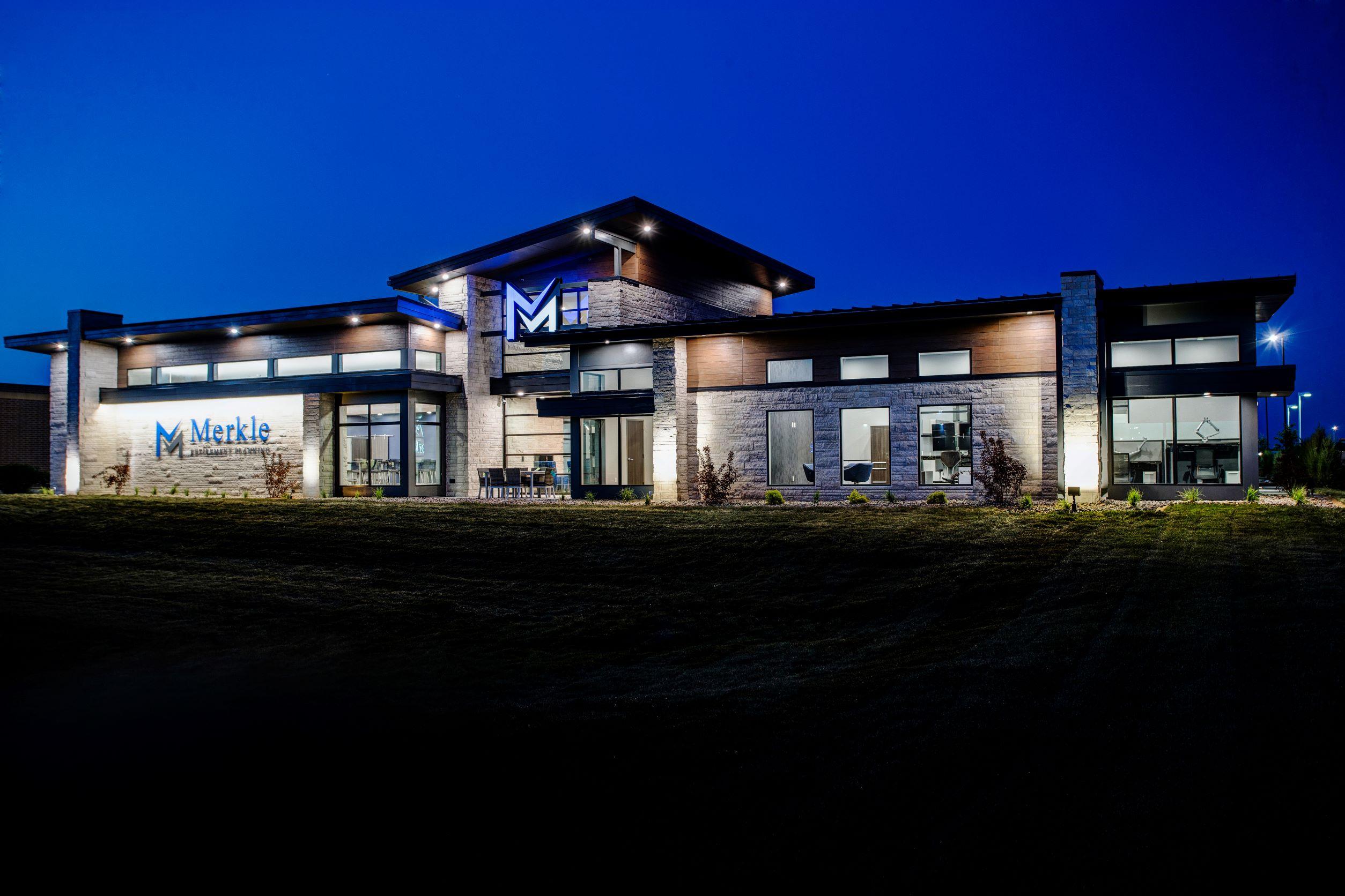 Merkle Retirement Planning Exterior | JCorp, Inc