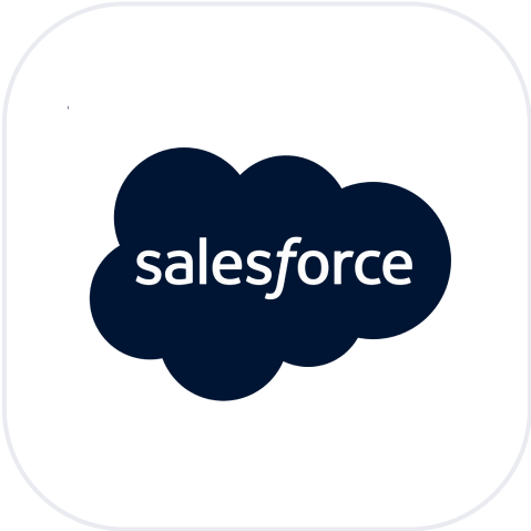 Get key metrics from Salesforce. Query any field or pull existing reports. Set goals and view trends.