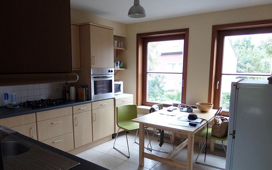 De keuken van de woning