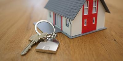 De sleutel van een huis
