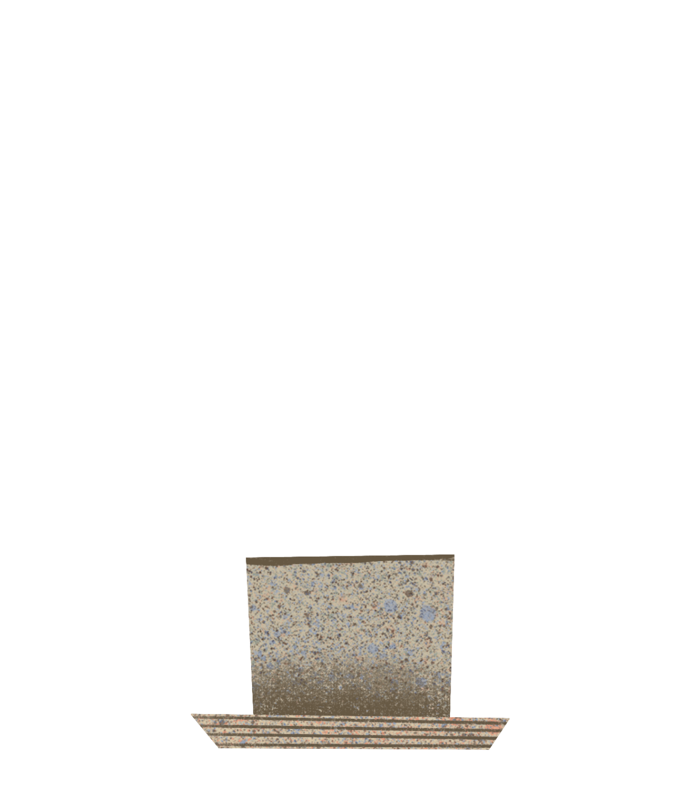 calathea rattlesnake pot
