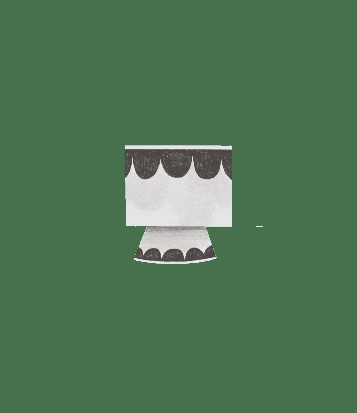 fishbone cactus pot