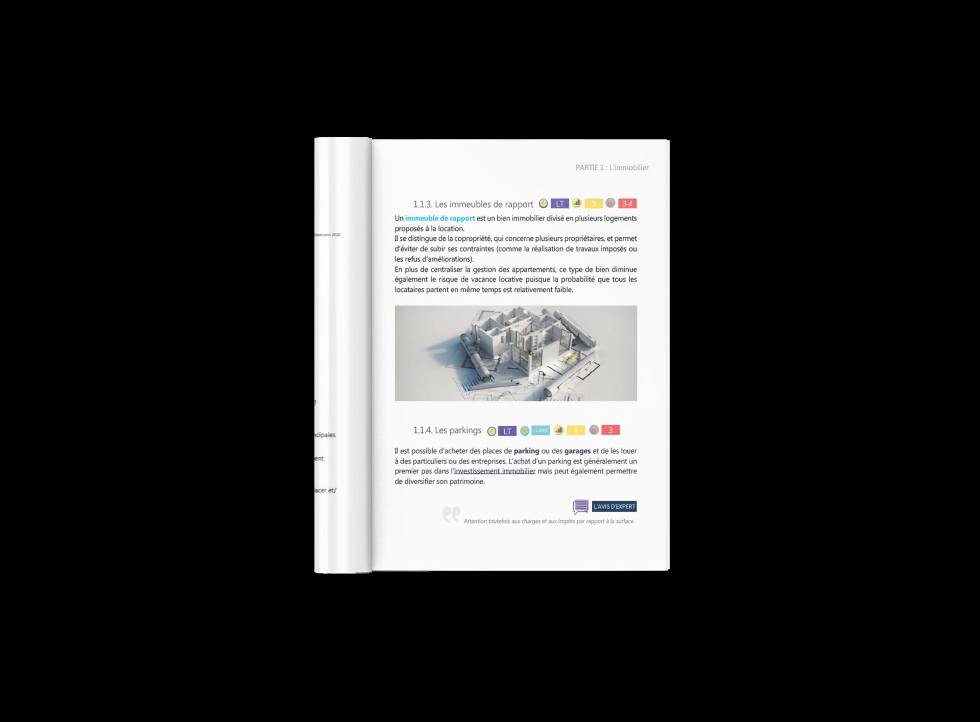 Visuel du guide de l'investissement page intérieure
