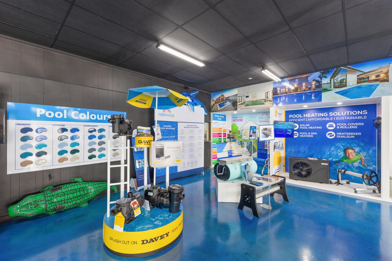 rainwise pool selection showroom melbourne