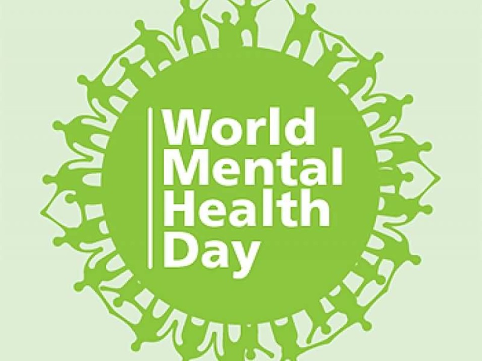 World Mental Health Day is tomorrow. Help is available.