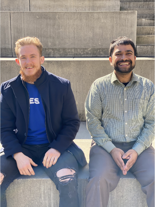 Fasade co-founders - Pavel Stanek and Ankit Jagannath