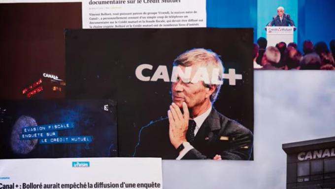 L'association Reporters sans Frontières (RSF) publie sur son compte Twitter un mini-docu pour dénoncer les dérives du système Bolloré, qui entravent la liberté de la presse et la démocratie in fine.