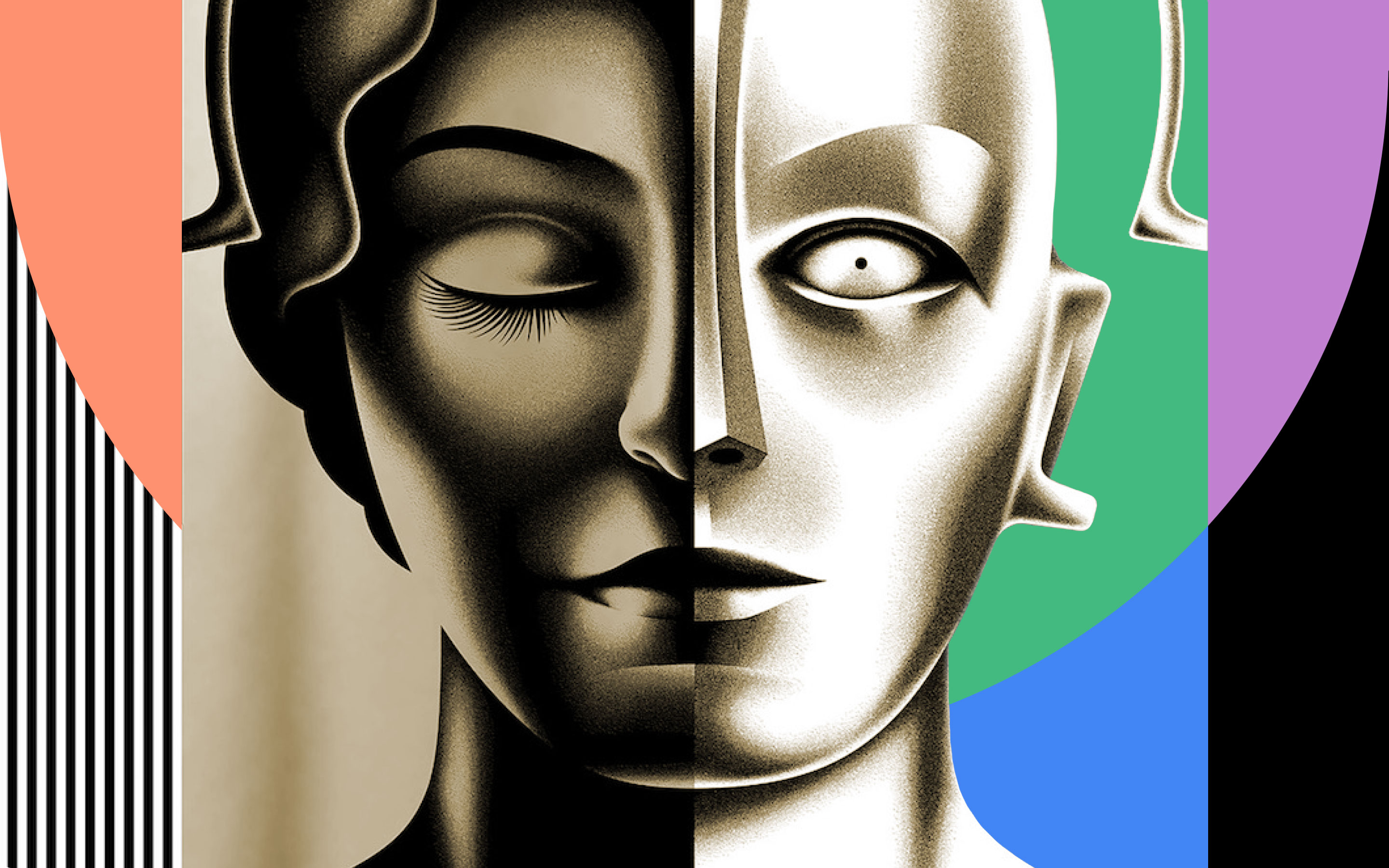 """Reworked poster for the movie """"Metropolis"""""""