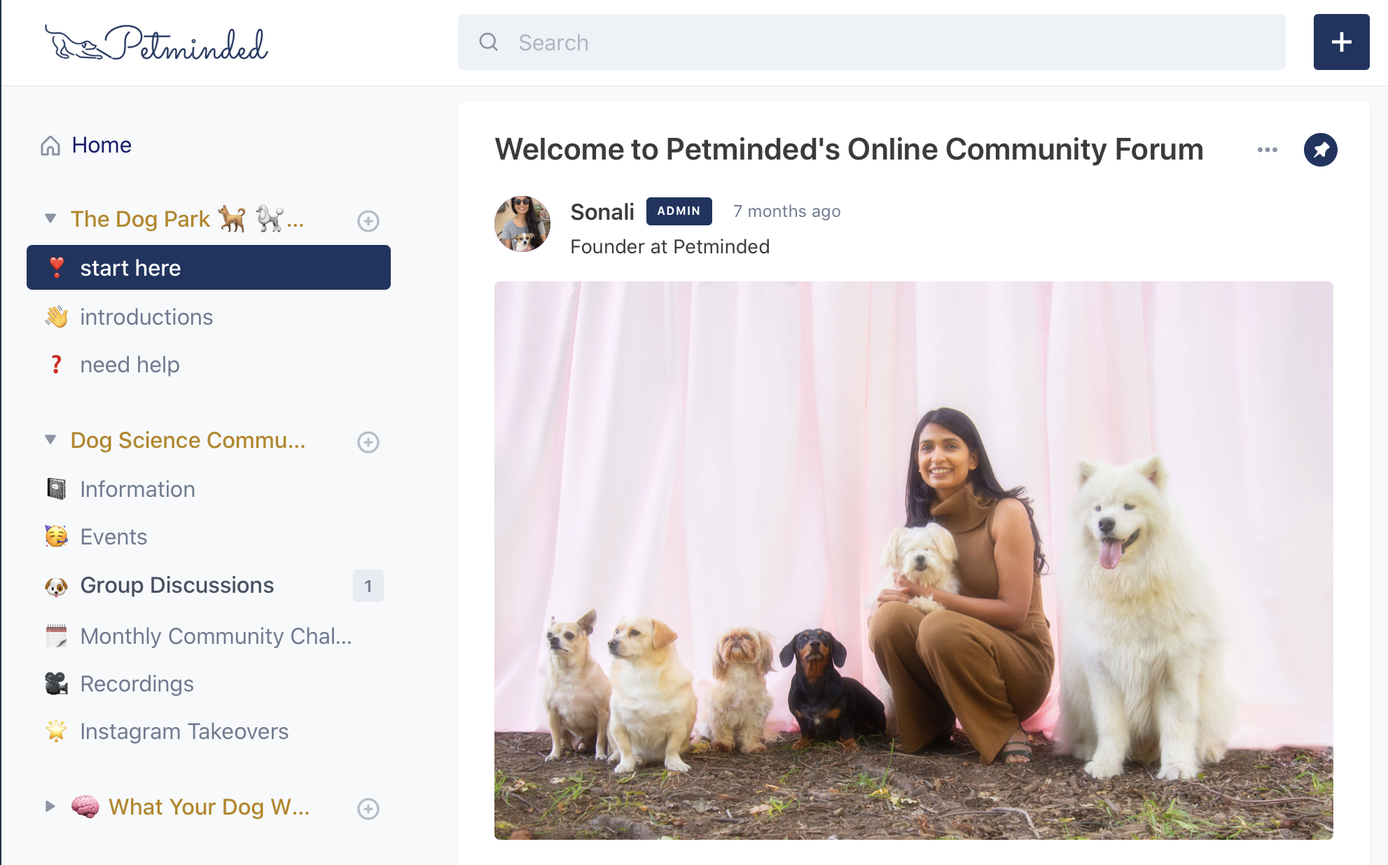 welcome_petminded
