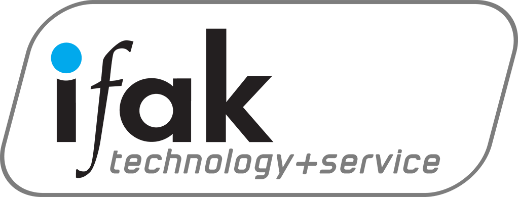 Das Logo von ifak