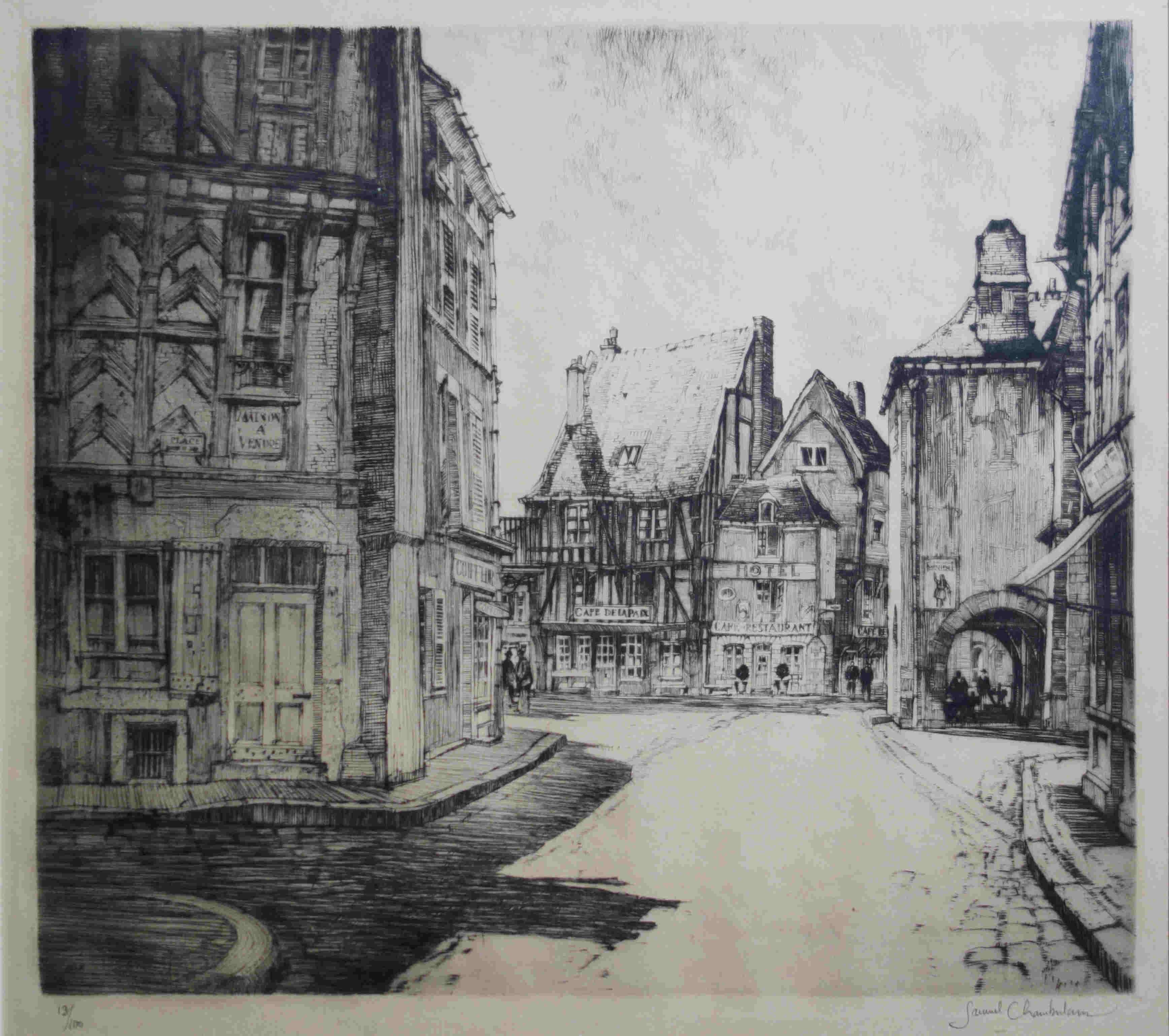 samuel chamberlain etching