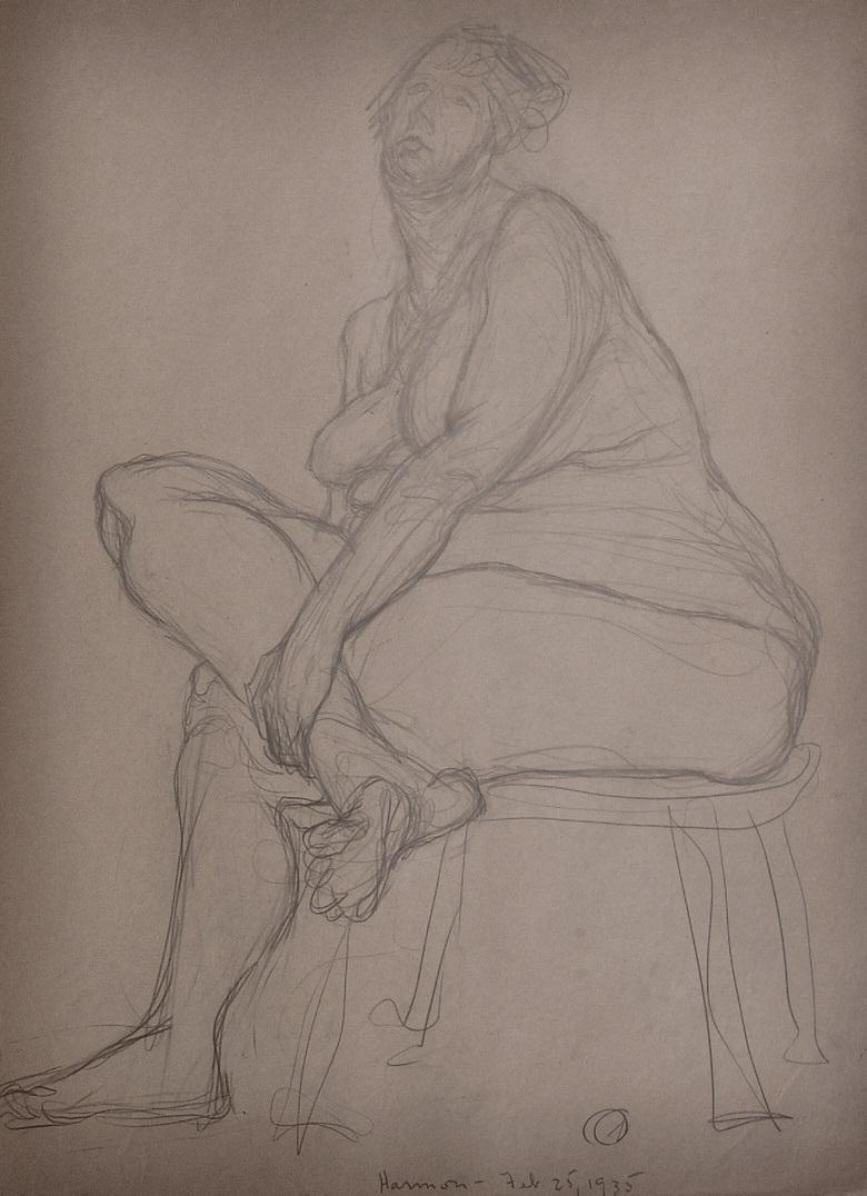 mamie harmon drawing