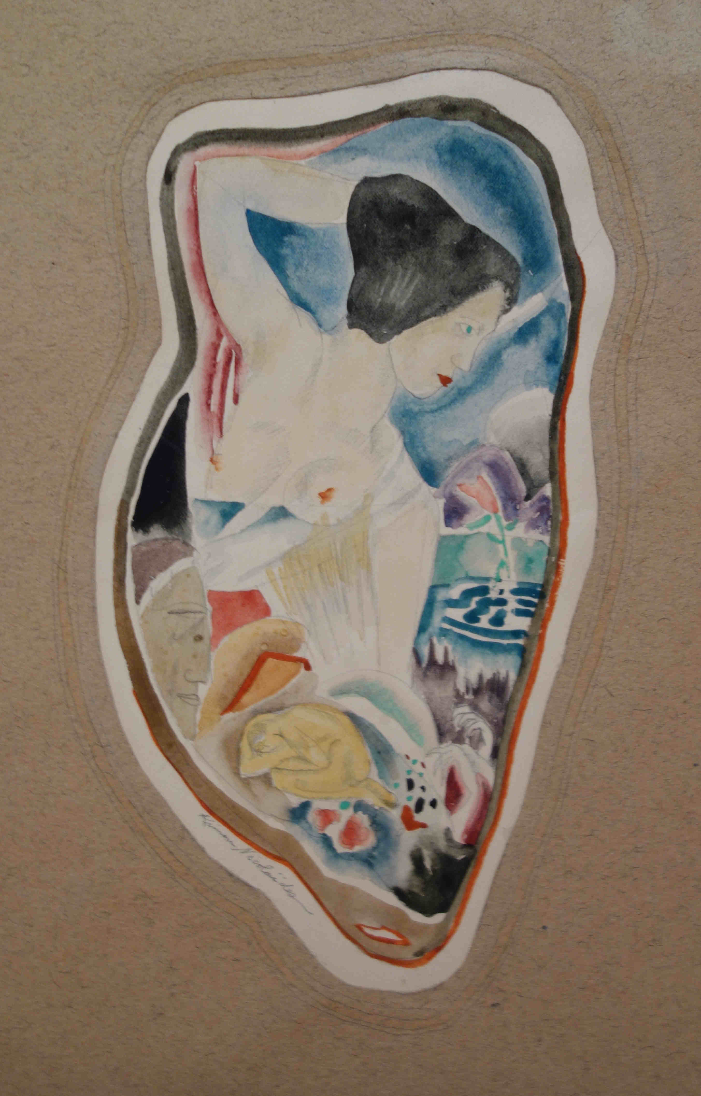 kimon nicolaides paintings