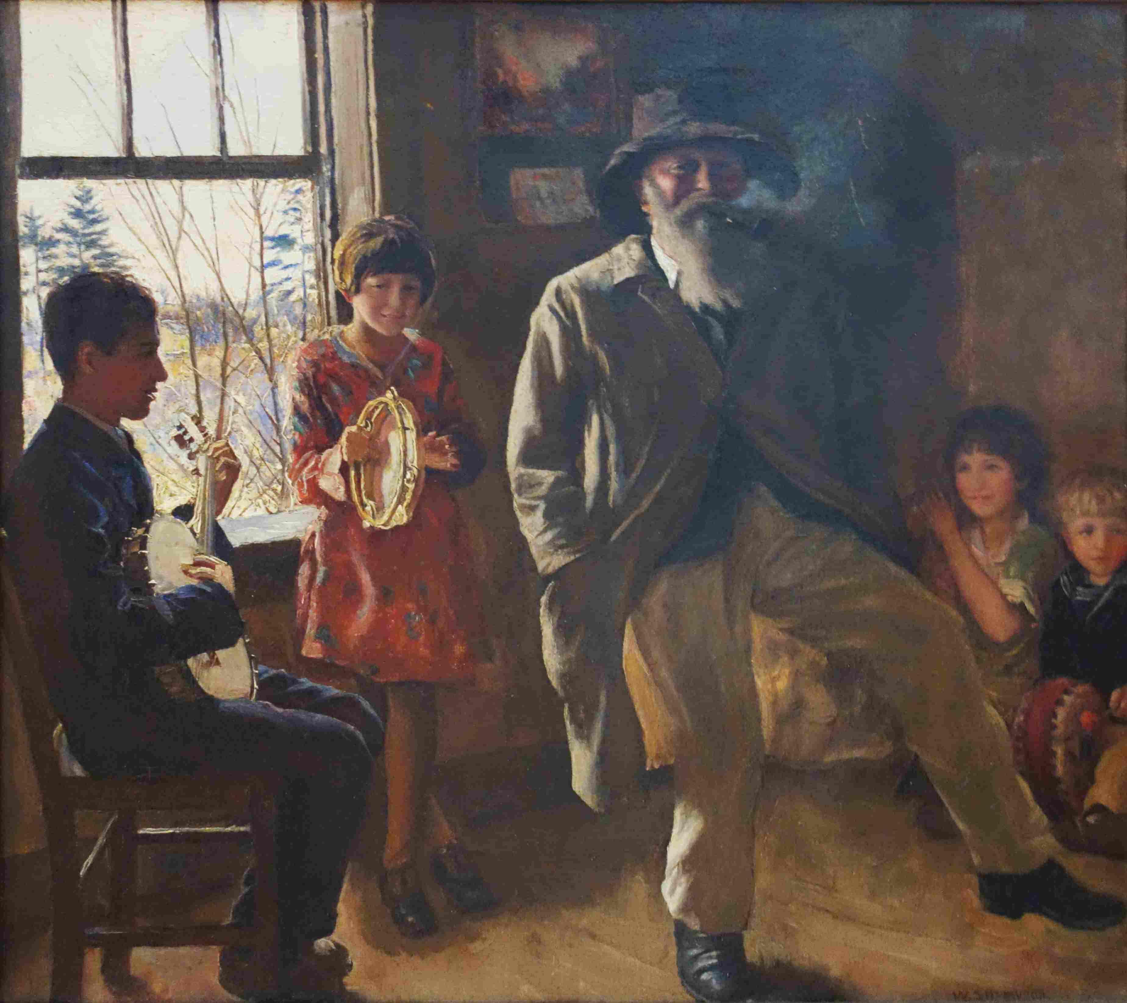 walter sherwood artist