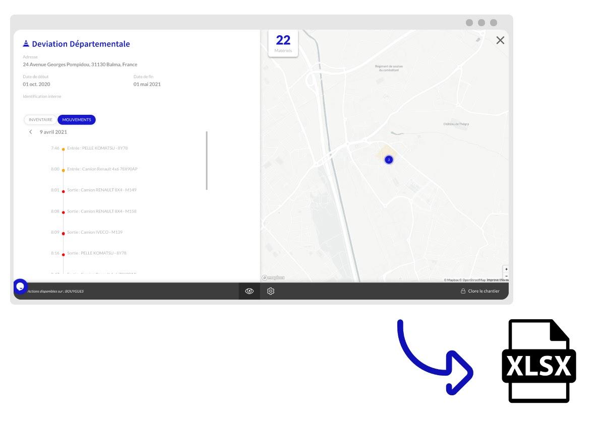 logiciel location de matériel