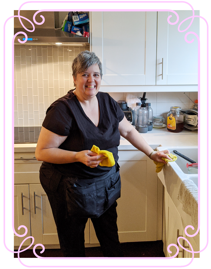 Posh Cleaning Integrity Pricing | Posh Maid Service - Woman cleaning in a kitchen