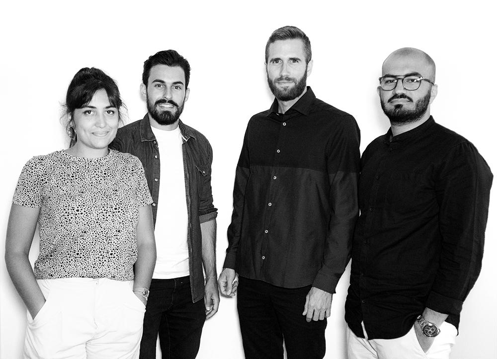 équipe de l'agence d'architecture Studio Jaouen à Montpellier