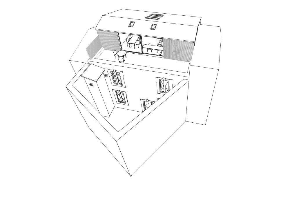BLO-toiture-quartier-des-beaux-arts-montpellier-architecte-studio-jaouen-surélévation-maison