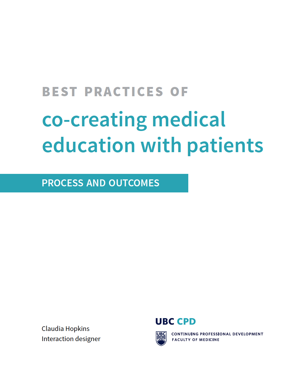 Front cover of the guidance PDF