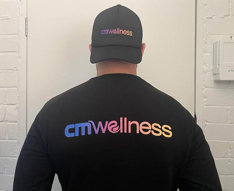 CM Wellness merchandise