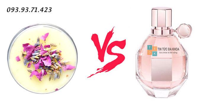 Sự khác biệt của nước hoa khô và nước hoa truyền thống
