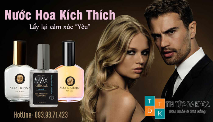 nước hoa kích dục, nước hoa kích dục cho nữ, nước hoa kích thích