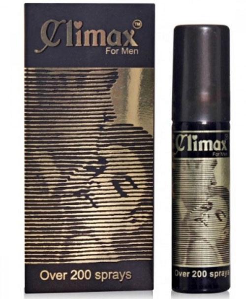 Climax For Men - xịt chống xuất tinh sớm kéo dài cuộc yêu
