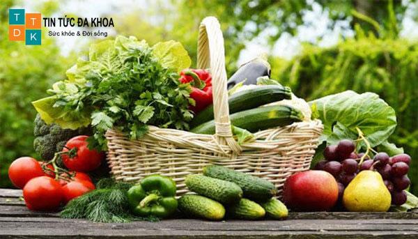 Đảm bảo dung nạp đủ 400g rau quả mỗi ngày