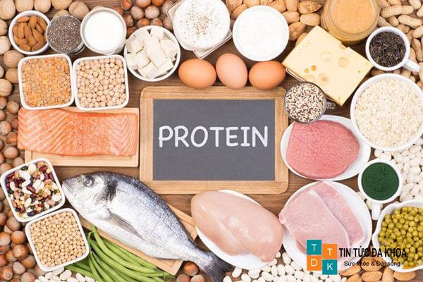 Mỗi ngày dung nạp đủ 1g protein/1kg