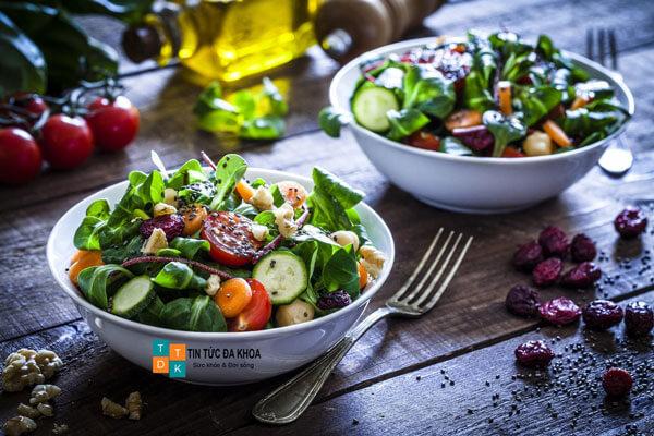 Salad rau bina tăng sức bền bỉ