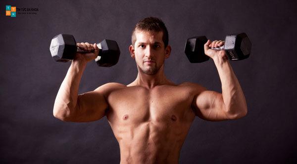 Tập tạ thúc đẩy sản sinh nhiều testosterone