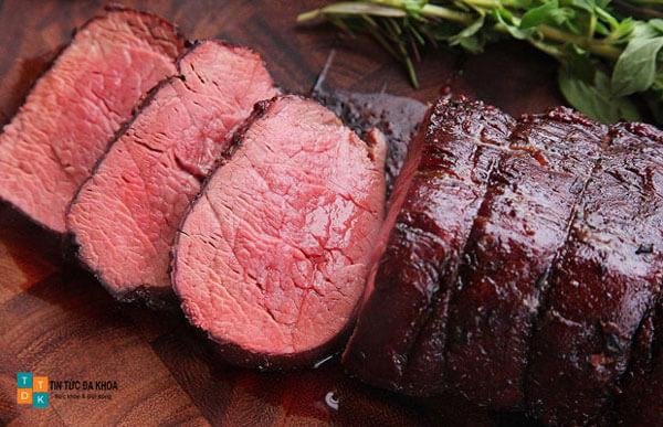 Thịt bò cải thiện xuất tinh sớm