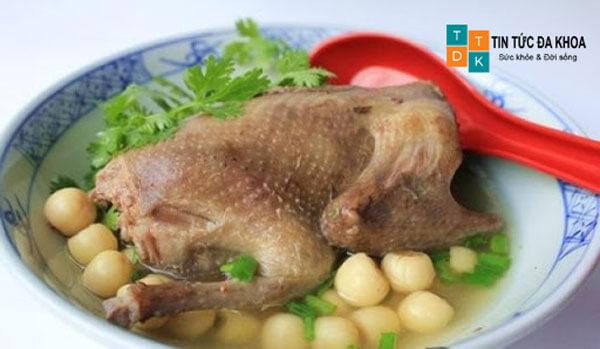 Thịt chim bồ câu tăng cường sinh lý