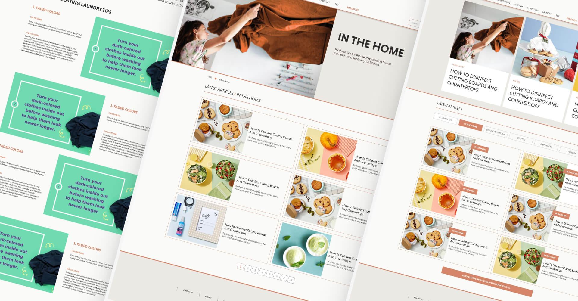 website full design