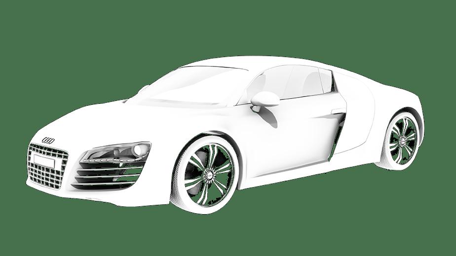 Car Animation White