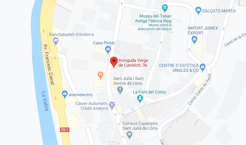Contacto Meriden Andorra